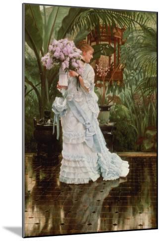 The Bunch of Lilacs, 1875-Sir Lawrence Alma-Tadema-Mounted Giclee Print