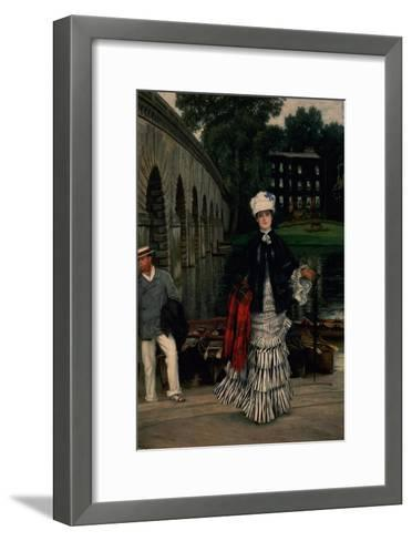 The Return from the Boating Trip, 1873-Sir Lawrence Alma-Tadema-Framed Art Print