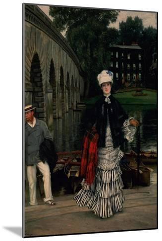 The Return from the Boating Trip, 1873-Sir Lawrence Alma-Tadema-Mounted Giclee Print