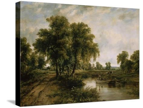 Dedham Vale, Suffolk-Cristofano Allori-Stretched Canvas Print