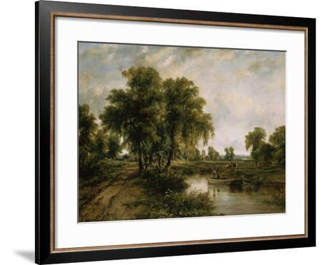 Dedham Vale, Suffolk-Cristofano Allori-Framed Art Print