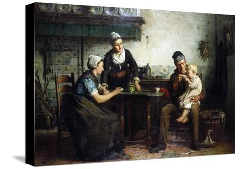 Tea for the Baby, 1876-William Bradford-Stretched Canvas Print