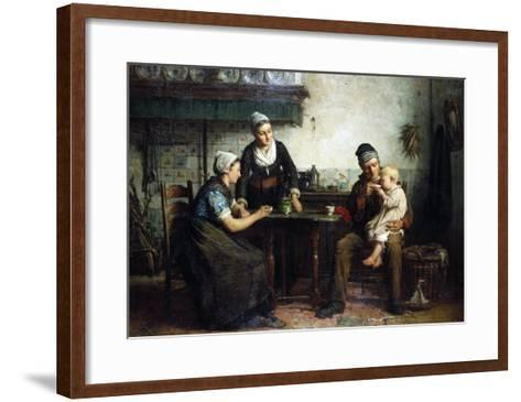 Tea for the Baby, 1876-William Bradford-Framed Art Print