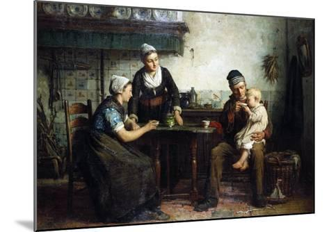 Tea for the Baby, 1876-William Bradford-Mounted Giclee Print