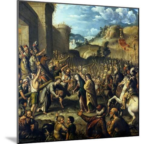 The Road to Calvary, 1638-Canaletto-Mounted Giclee Print