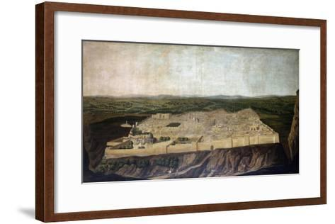 A Panoramic View of Jerusalem-Filipo Or Frederico Bartolini-Framed Art Print