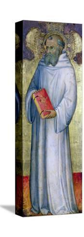Saint Benedict-Carl Frederic Aagaard-Stretched Canvas Print
