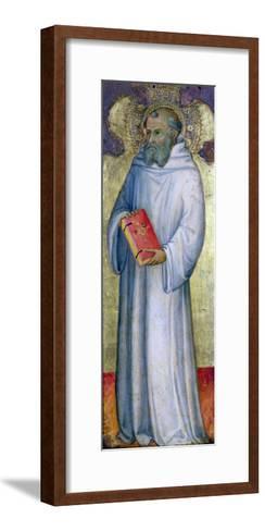 Saint Benedict-Carl Frederic Aagaard-Framed Art Print