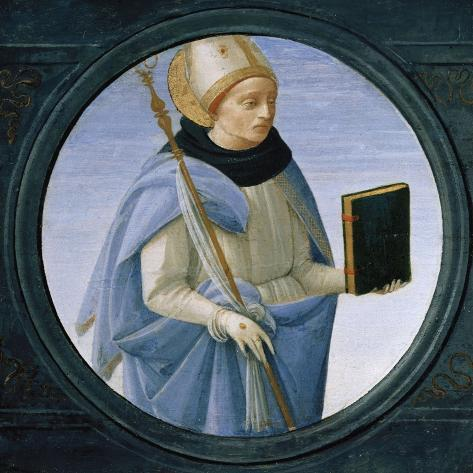 Saint Stephen-Cristofano Allori-Stretched Canvas Print