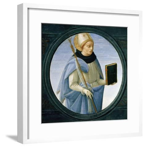 Saint Stephen-Cristofano Allori-Framed Art Print