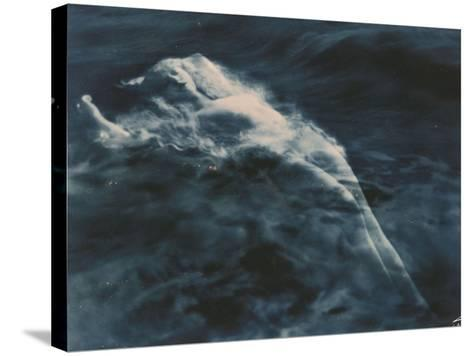 Aphrodite (In Water), 1920-1925-Edward S^ Curtis-Stretched Canvas Print