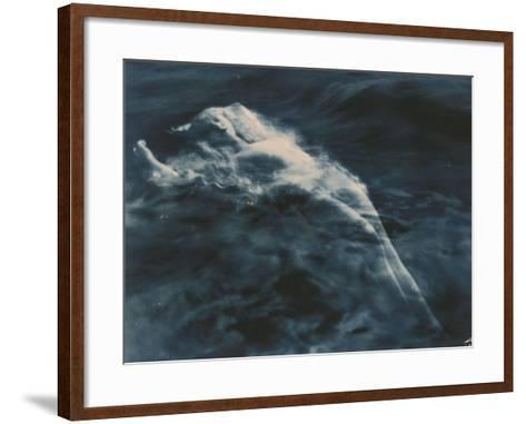 Aphrodite (In Water), 1920-1925-Edward S^ Curtis-Framed Art Print