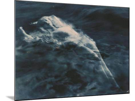 Aphrodite (In Water), 1920-1925-Edward S^ Curtis-Mounted Giclee Print