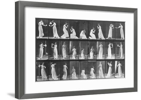 Human Locomotion: Females, 1887-Edward S^ Curtis-Framed Art Print
