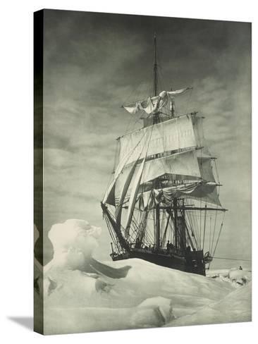 Terra Nova Icebound, British Antarctic Expedition, Circa 1910-Eugene Atget-Stretched Canvas Print