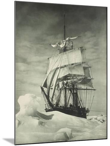 Terra Nova Icebound, British Antarctic Expedition, Circa 1910-Eugene Atget-Mounted Giclee Print