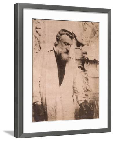 Portrait of Auguste Rodin,1905-Eugene Atget-Framed Art Print