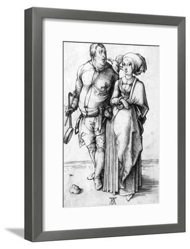 A Cook and His Wife, Circa 1496-Frank Cadogan Cowper-Framed Art Print