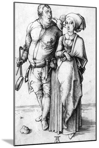 A Cook and His Wife, Circa 1496-Frank Cadogan Cowper-Mounted Giclee Print