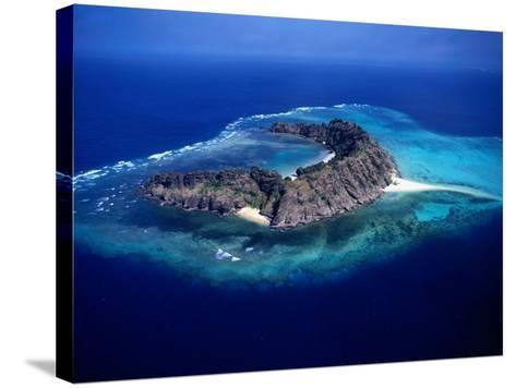Waier Island in the Murray Island Group, Torres Strait Islands, Waier Island, Queensland, Australia-Oliver Strewe-Stretched Canvas Print