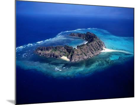 Waier Island in the Murray Island Group, Torres Strait Islands, Waier Island, Queensland, Australia-Oliver Strewe-Mounted Photographic Print