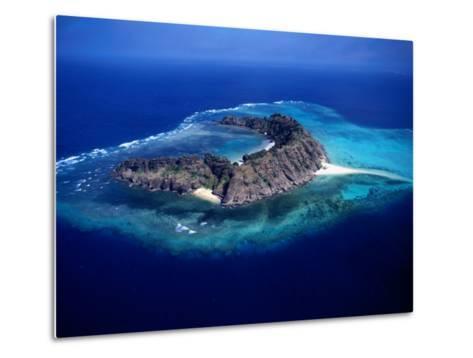 Waier Island in the Murray Island Group, Torres Strait Islands, Waier Island, Queensland, Australia-Oliver Strewe-Metal Print