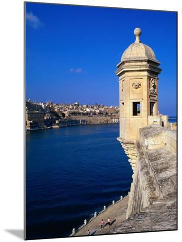 The Vedette at Senglea Overlooking the Grand Harbour, Valletta, Malta-Michael Gebicki-Mounted Photographic Print