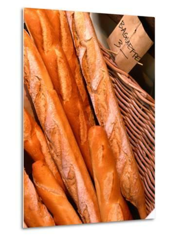 Baguettes at Fratelli Paradiso, Daringhurst, Sydney, New South Wales, Australia-Greg Elms-Metal Print