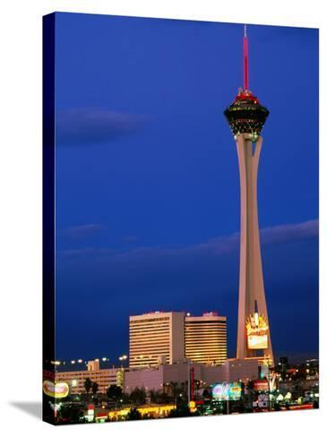 Stratosphere Tower, Las Vegas, Nevada-Richard Cummins-Stretched Canvas Print