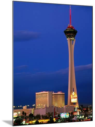 Stratosphere Tower, Las Vegas, Nevada-Richard Cummins-Mounted Photographic Print