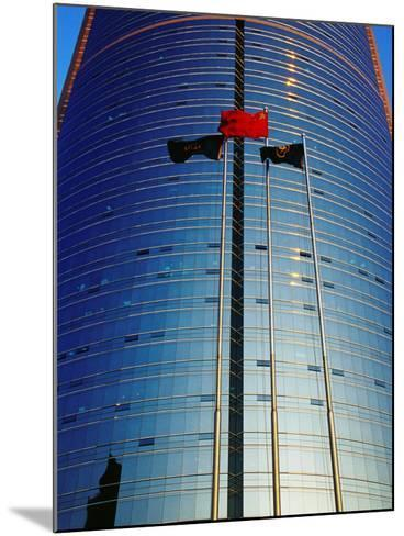 China Merchants Tower on Jianguomenwai Dajie, Beijing, China-Krzysztof Dydynski-Mounted Photographic Print