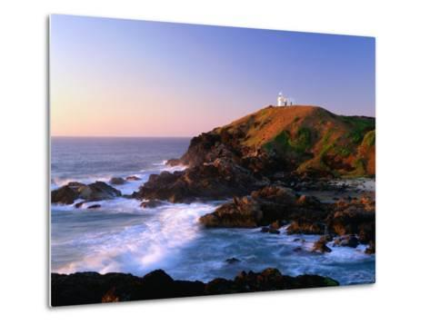 Tacking Point at Sunrise, Port Macquarie, New South Wales, Australia-Ross Barnett-Metal Print