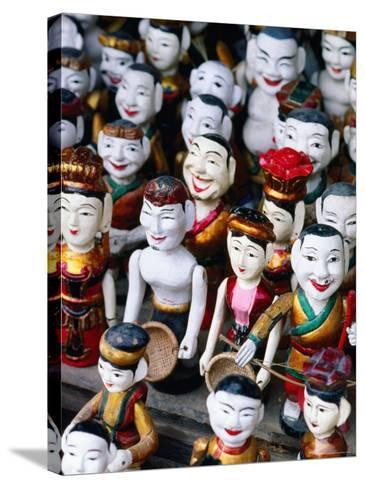 Water Puppets for Sale, Hanoi, Vietnam-Christopher Groenhout-Stretched Canvas Print
