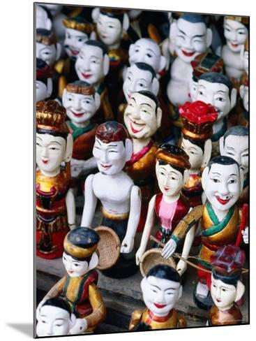 Water Puppets for Sale, Hanoi, Vietnam-Christopher Groenhout-Mounted Photographic Print