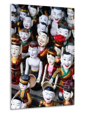 Water Puppets for Sale, Hanoi, Vietnam-Christopher Groenhout-Metal Print