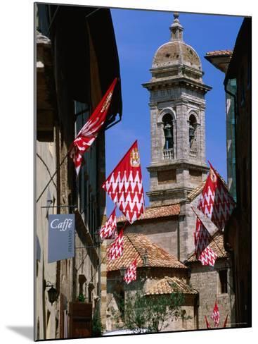 Collegiata, San Quirico d'Orcia, Tuscany, Italy-John Elk III-Mounted Photographic Print