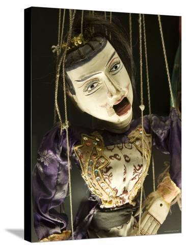 Marionet, Museu Da Marioneta, Sao Bento, Lisbon, Portugal-Greg Elms-Stretched Canvas Print