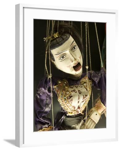 Marionet, Museu Da Marioneta, Sao Bento, Lisbon, Portugal-Greg Elms-Framed Art Print