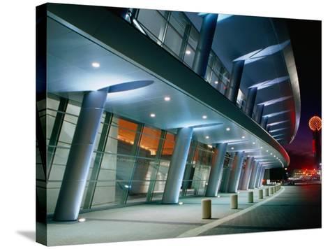 Dallas Convention Center, Dallas, Texas-Richard Cummins-Stretched Canvas Print