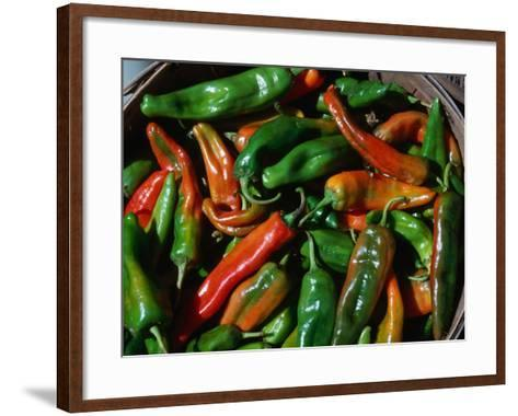 If The Chile Ain't Hot Enough, The Cook's Not Mad Enough - New Mexican Adage, Chimayo, New Mexico-John Elk III-Framed Art Print