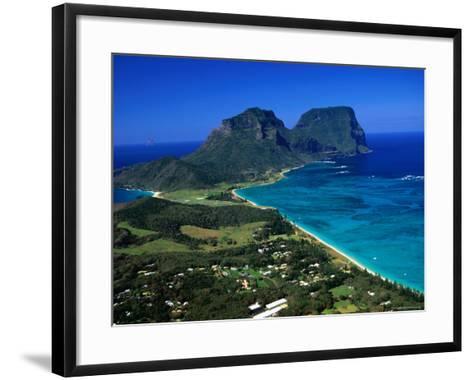 Lord Howe Island, New South Wales, Australia-Christopher Groenhout-Framed Art Print