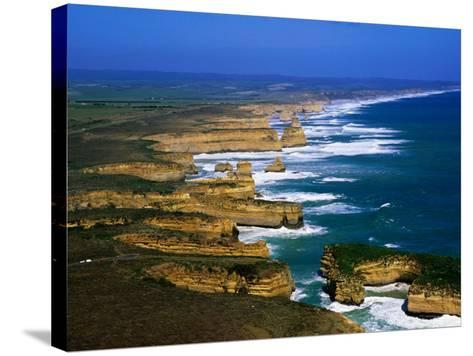 Twelve Apostles Coastline, Port Campbell National Park, Victoria, Australia-Christopher Groenhout-Stretched Canvas Print