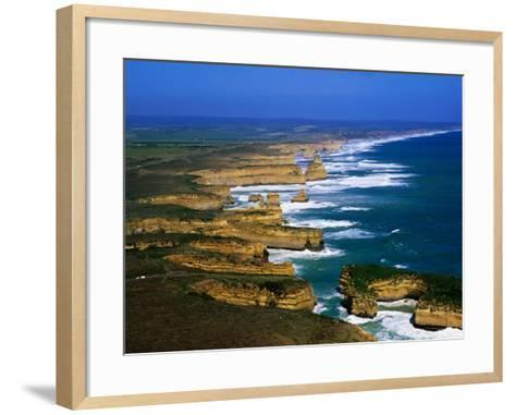Twelve Apostles Coastline, Port Campbell National Park, Victoria, Australia-Christopher Groenhout-Framed Art Print