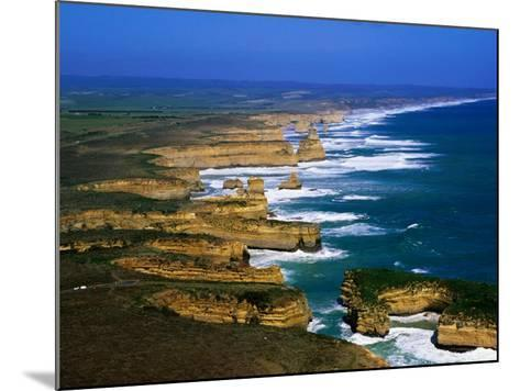 Twelve Apostles Coastline, Port Campbell National Park, Victoria, Australia-Christopher Groenhout-Mounted Photographic Print