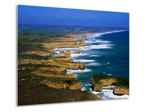 Twelve Apostles Coastline, Port Campbell National Park, Victoria, Australia-Christopher Groenhout-Metal Print
