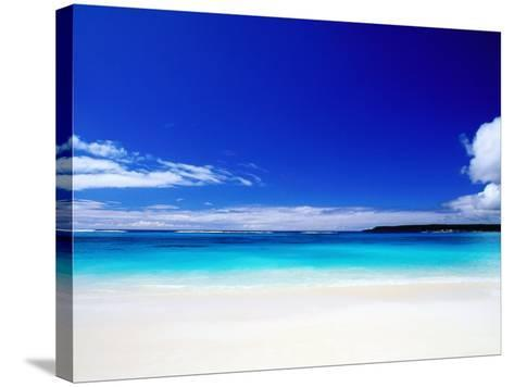 Bay of Chateaubriand, Lifou Island, Loyalty Islands, New Caledonia-Peter Hendrie-Stretched Canvas Print