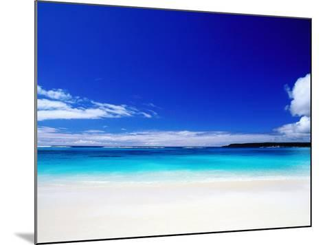 Bay of Chateaubriand, Lifou Island, Loyalty Islands, New Caledonia-Peter Hendrie-Mounted Photographic Print