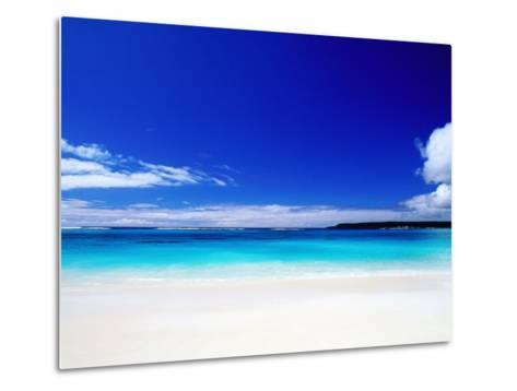 Bay of Chateaubriand, Lifou Island, Loyalty Islands, New Caledonia-Peter Hendrie-Metal Print
