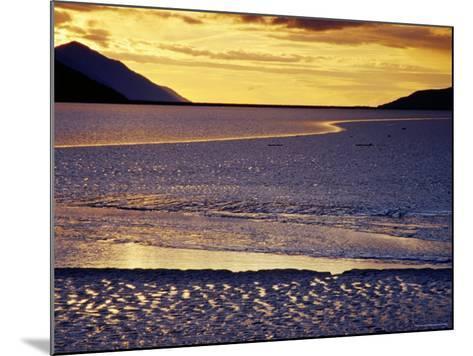 Low Tide at Turnagain Arm, Cook Inlet, Seward Scenic Highway, Seward, Alaska-Richard Cummins-Mounted Photographic Print