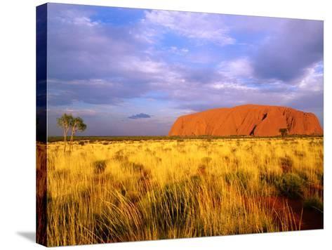 Uluru, Uluru-Kata Tjuta National Park, Northern Territory, Australia-John Banagan-Stretched Canvas Print